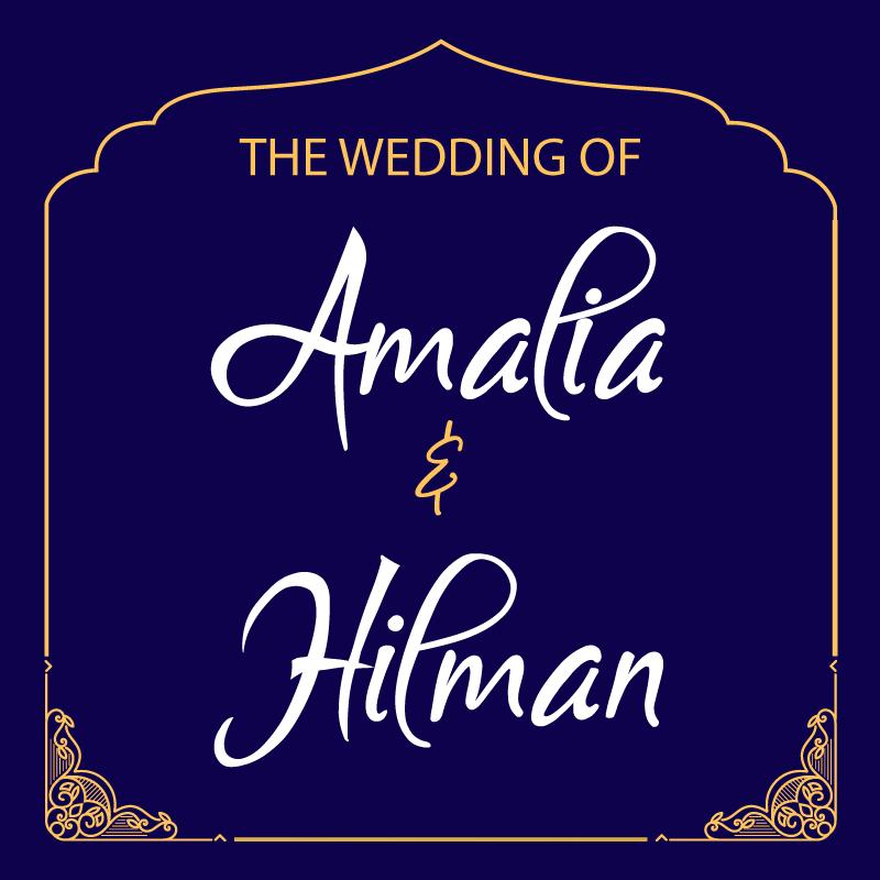 Web Invitation Amalia & Hilman