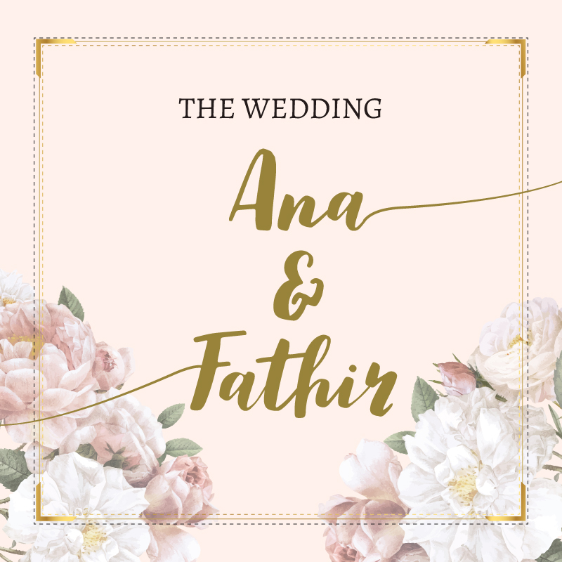 Web Invitation Ana & Fathir