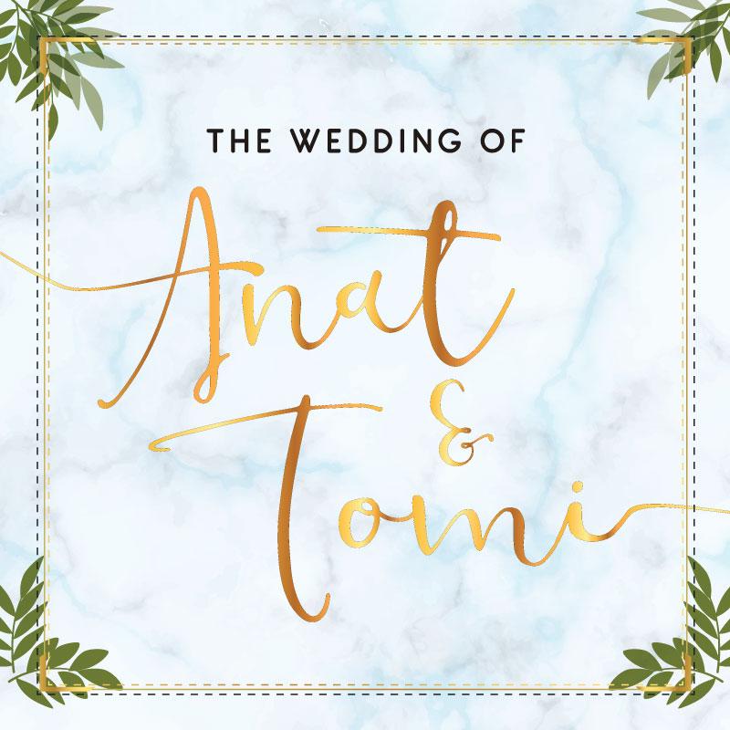 Web Invitation Anat & Tomi