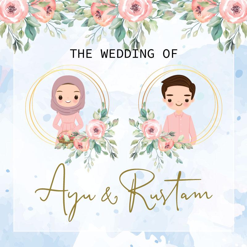 Web Invitation Ayu & Rustam