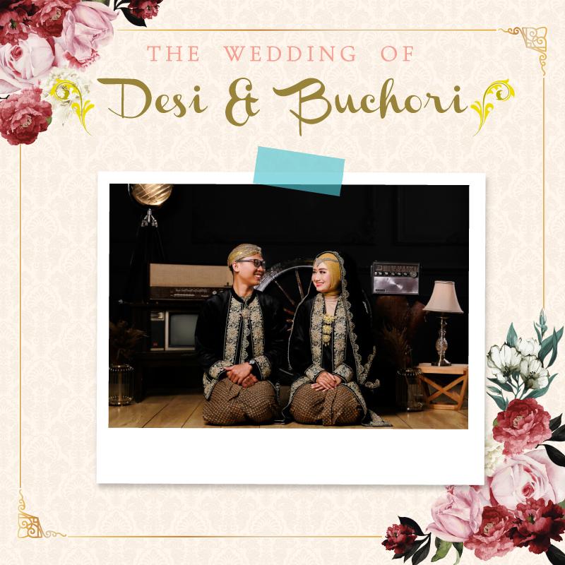 Web Invitation Desi & Buchori