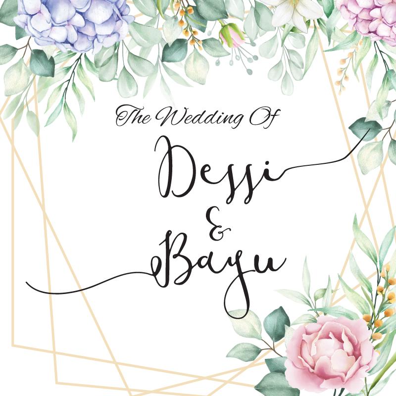 Web Invitation Dessi & Bayu
