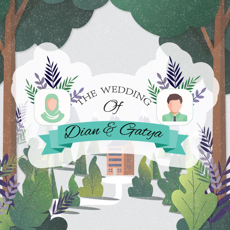 Web Invitation Dian & Gatya