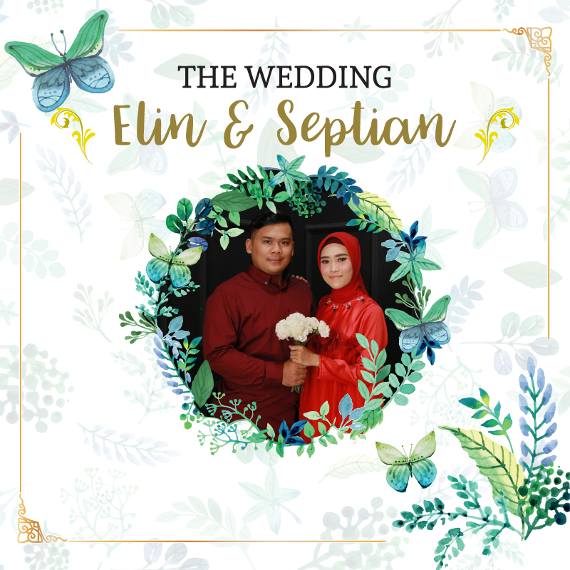 Web Invitation Elin & Septian