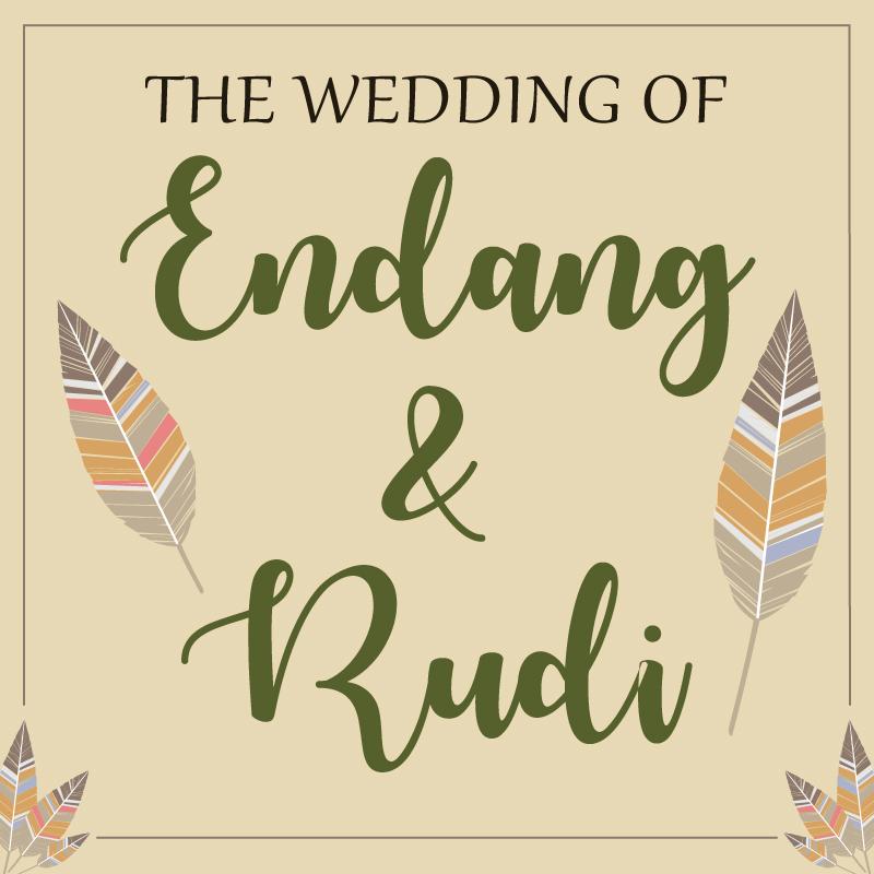 Web Invitation Endang & Rudi