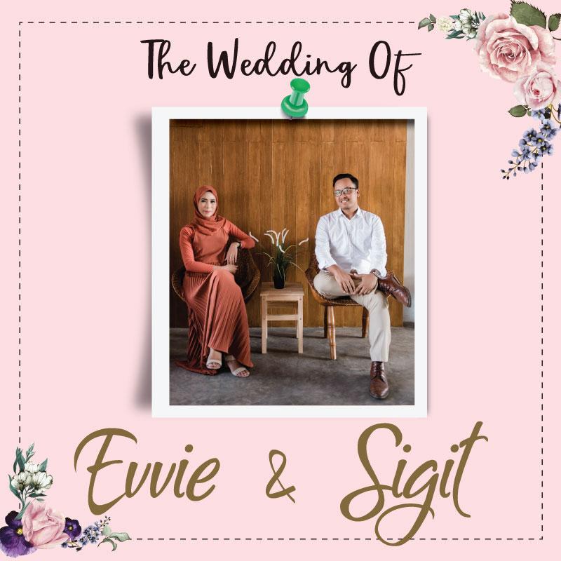 Web Invitation Evvie & Sigit