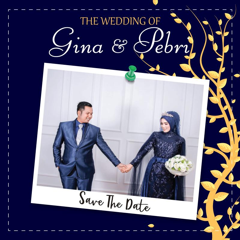 Web Invitation Gina & Pebri