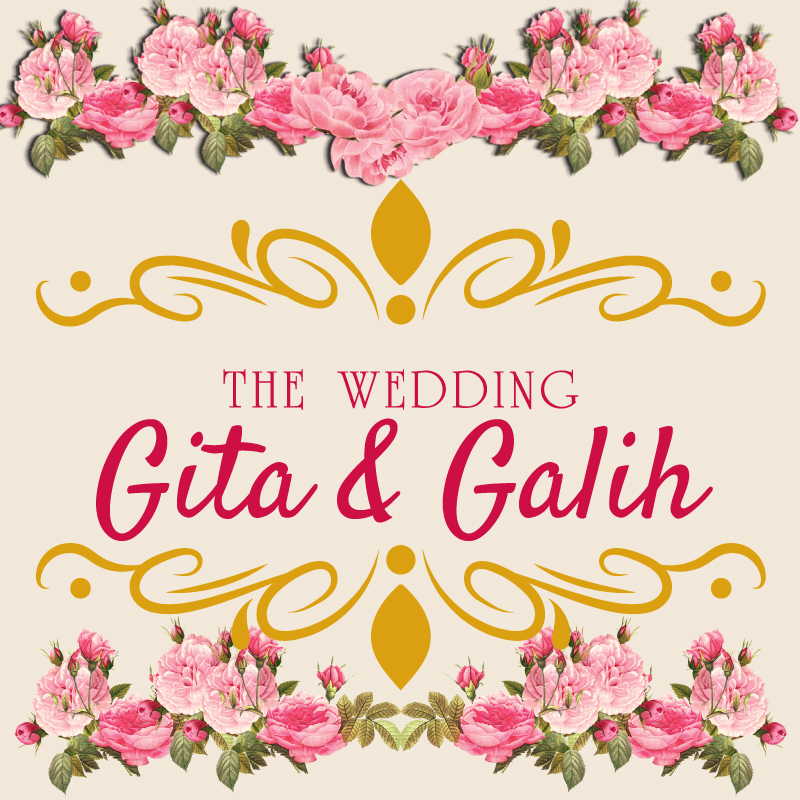 Web Invitation Gita & Galih