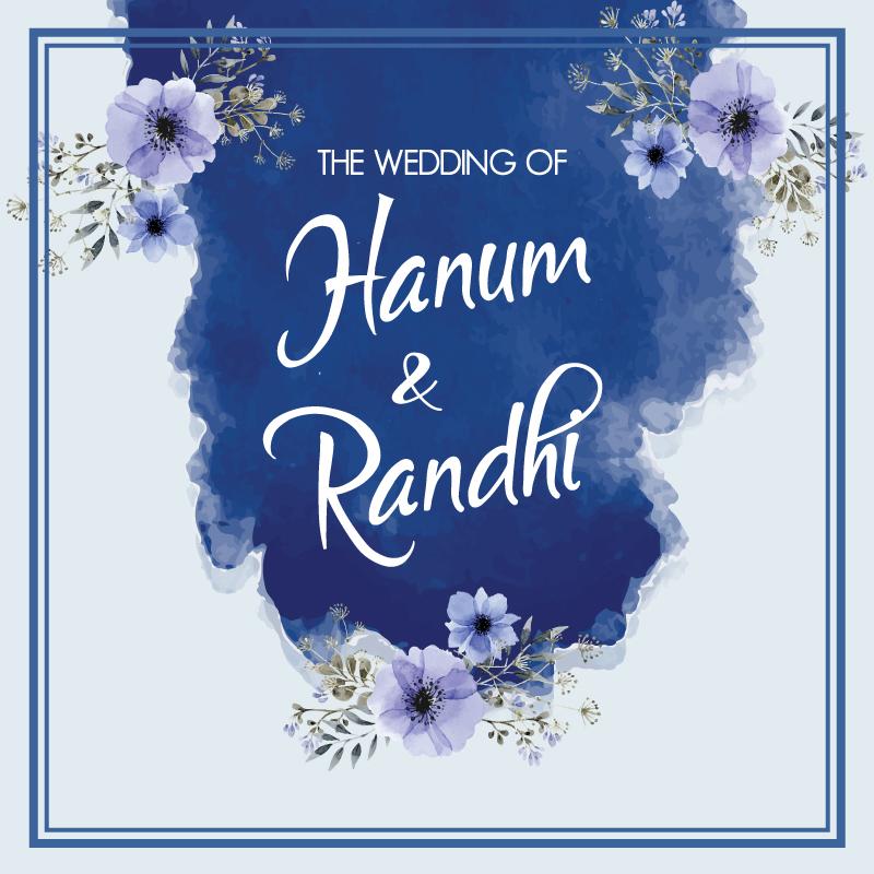 Web Invitation Hanum & Randhi