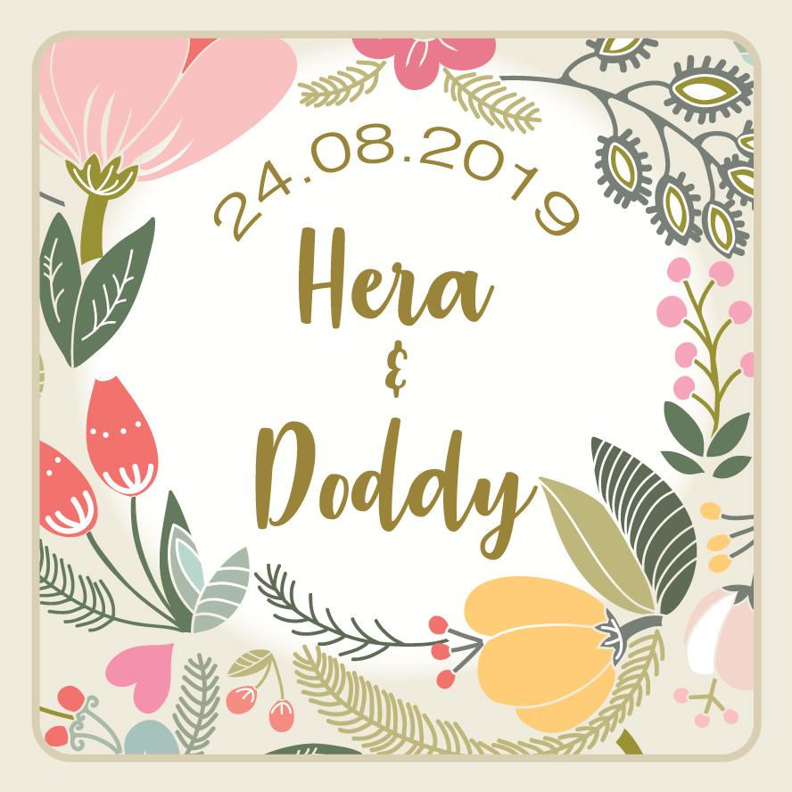 Web Invitation Hera & Doddy