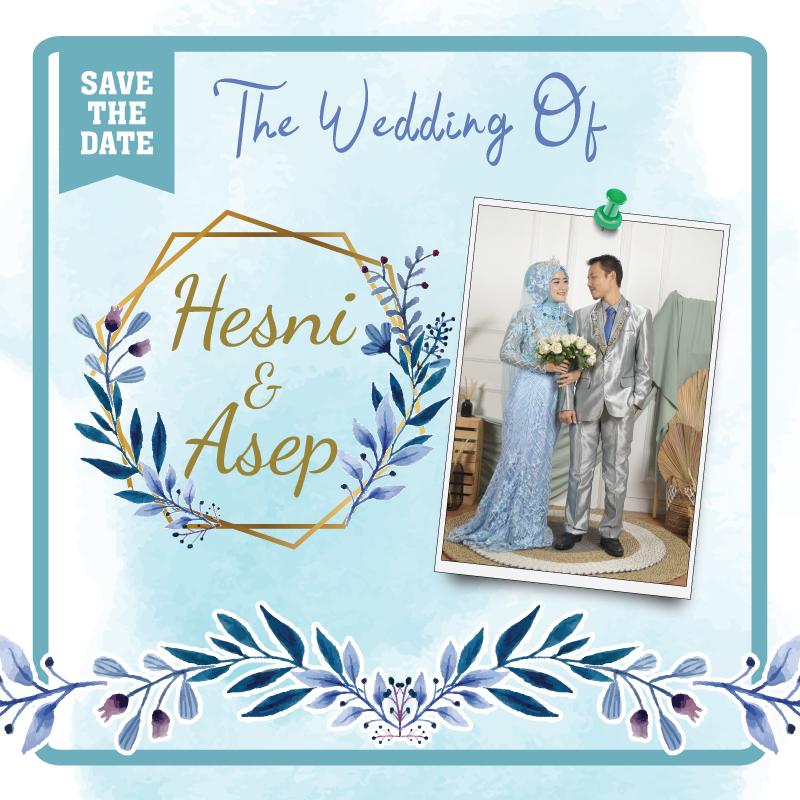 Web Invitation Hesni & Asep