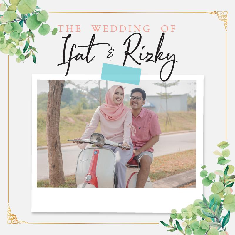 Web Invitation Ifat & Rizky