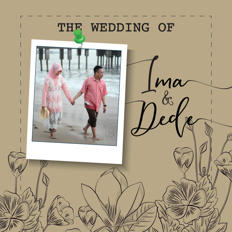 Web Invitation Ima & Dede