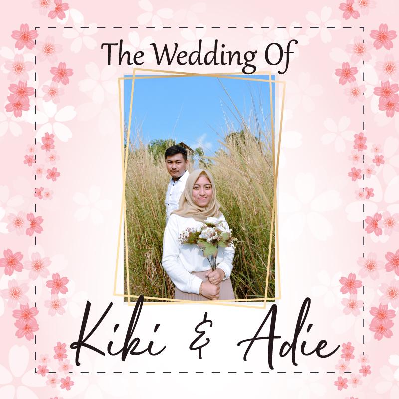Web Invitation Kiki & Adie