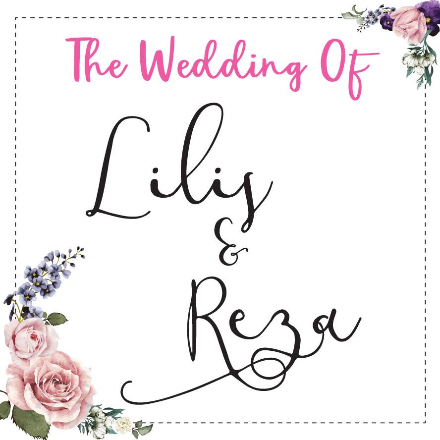 Web Invitation Lilis & Reza