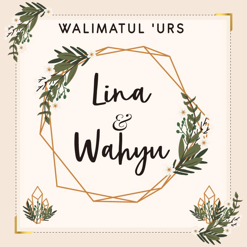 Web Invitation Lina & Wahyu