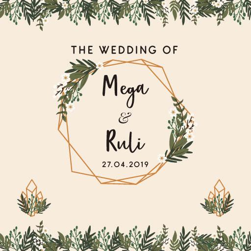Web Invitation Mega & Ruli