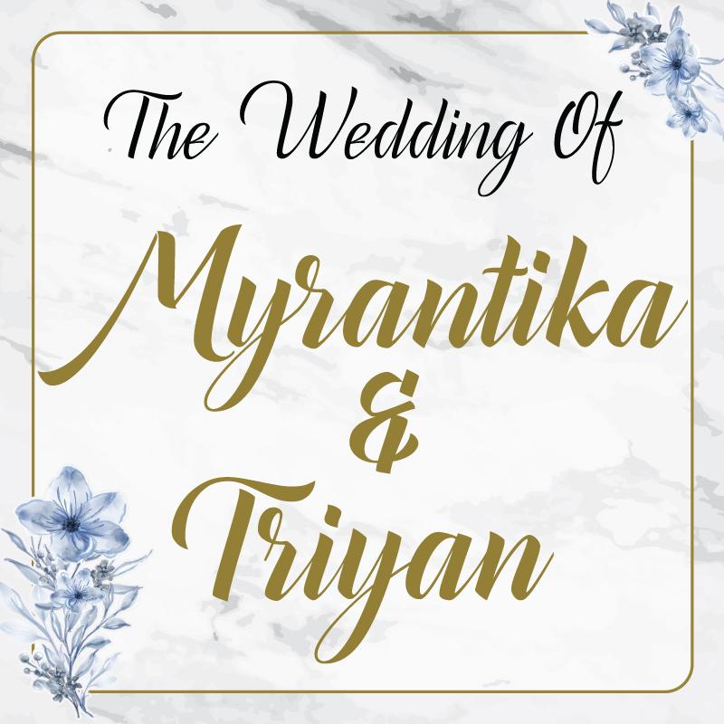 Web Invitation Myrantika & Triyan