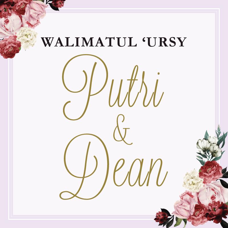 Web Invitation Putri & Dean