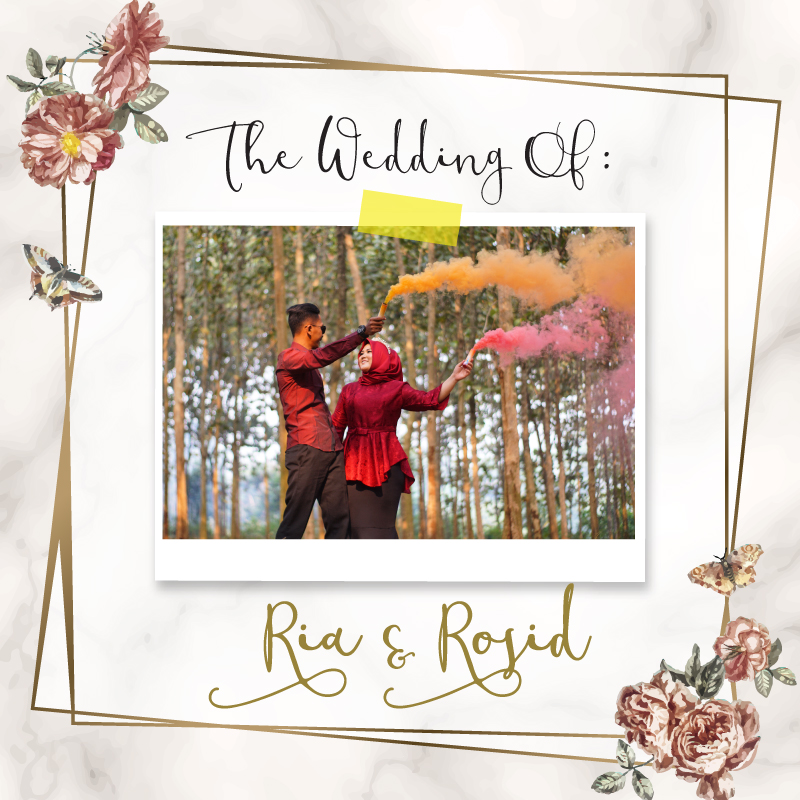 Web Invitation Ria & Rosid
