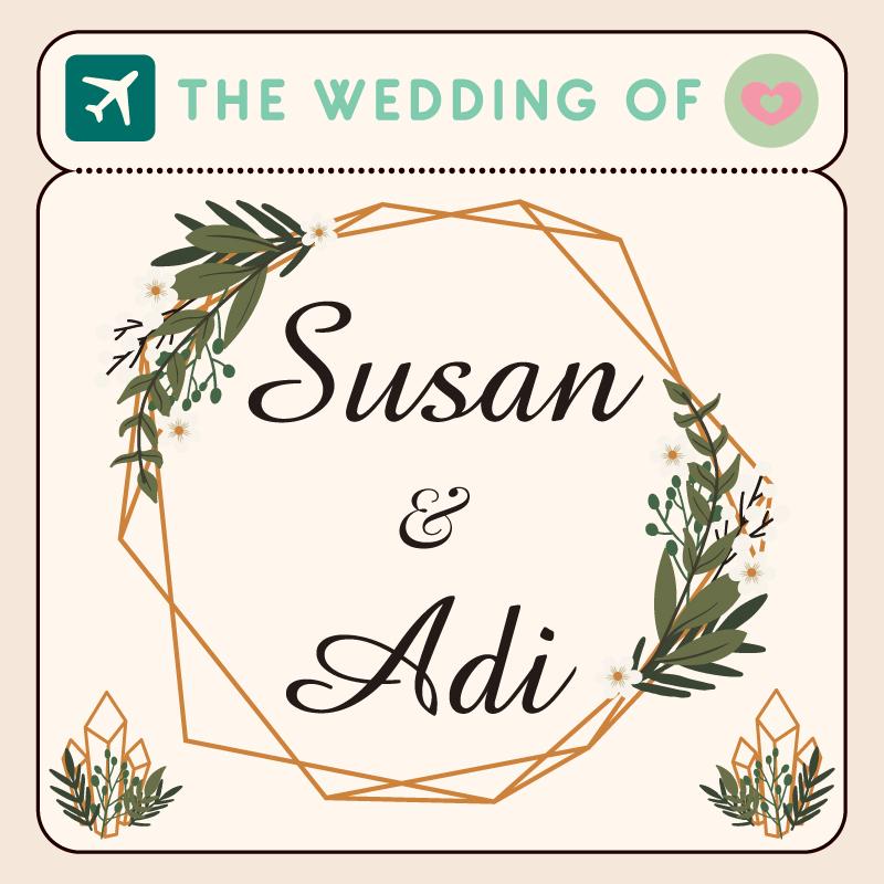 Web Invitation Susan & Adi