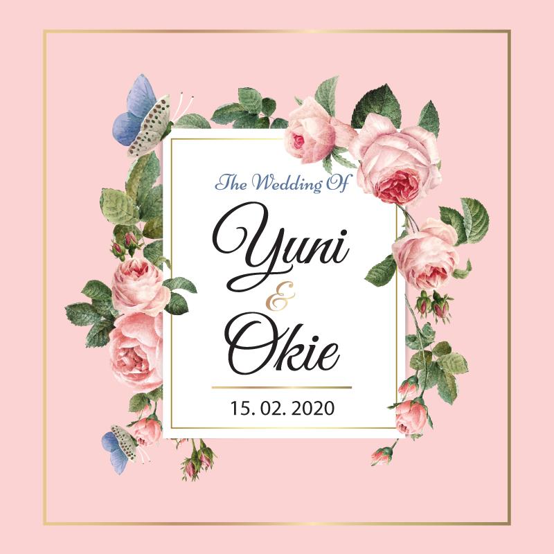 Web Invitation Yuni & Okie